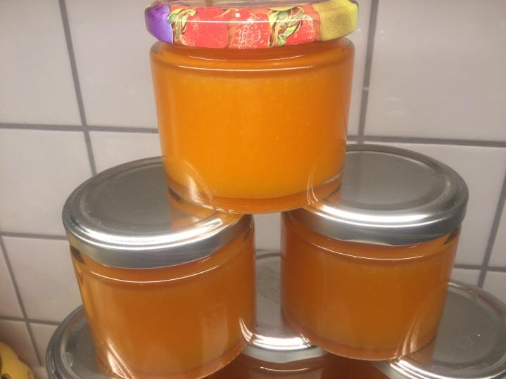 Orangen-Karotten-Konfitüre