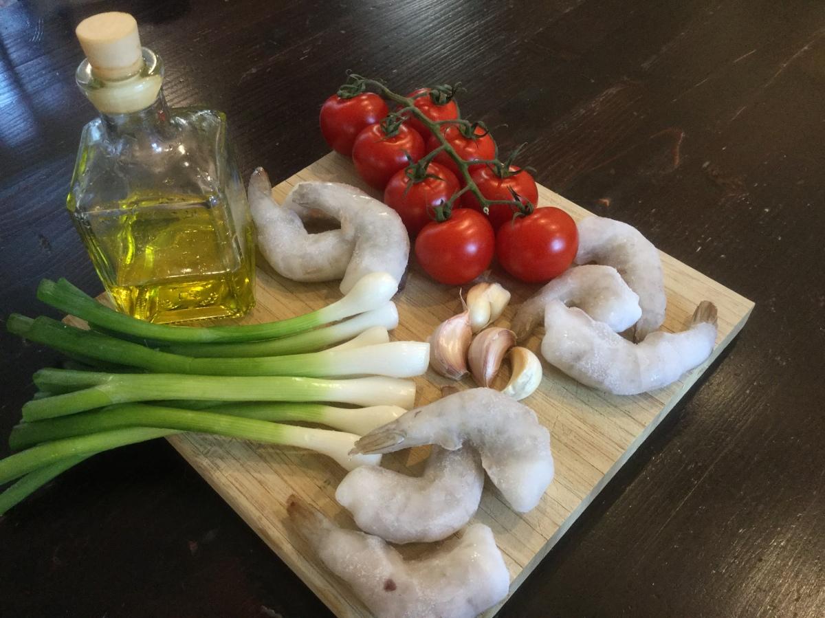Spaghetti aglio e olio deluxe