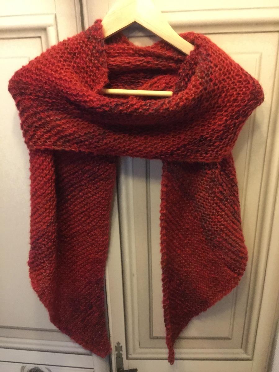Ein Schal für meine Stamm-Leserin